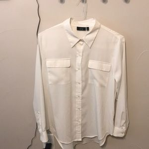 Apt 9 large white blouse